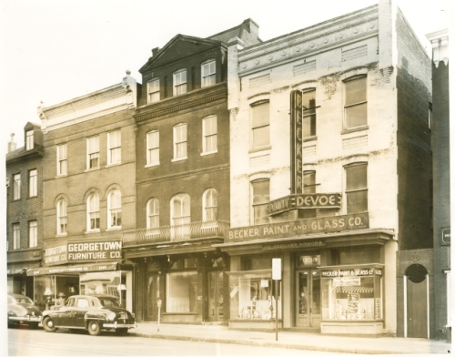 Wisconsin Ave, NW, Georgetown, 1950