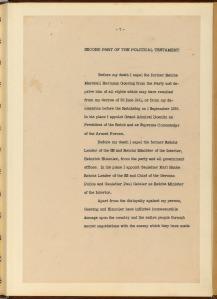 English Translation of Hitler's Political Testament p7