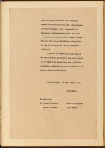 English Translation of Hitler's Political Testament p10
