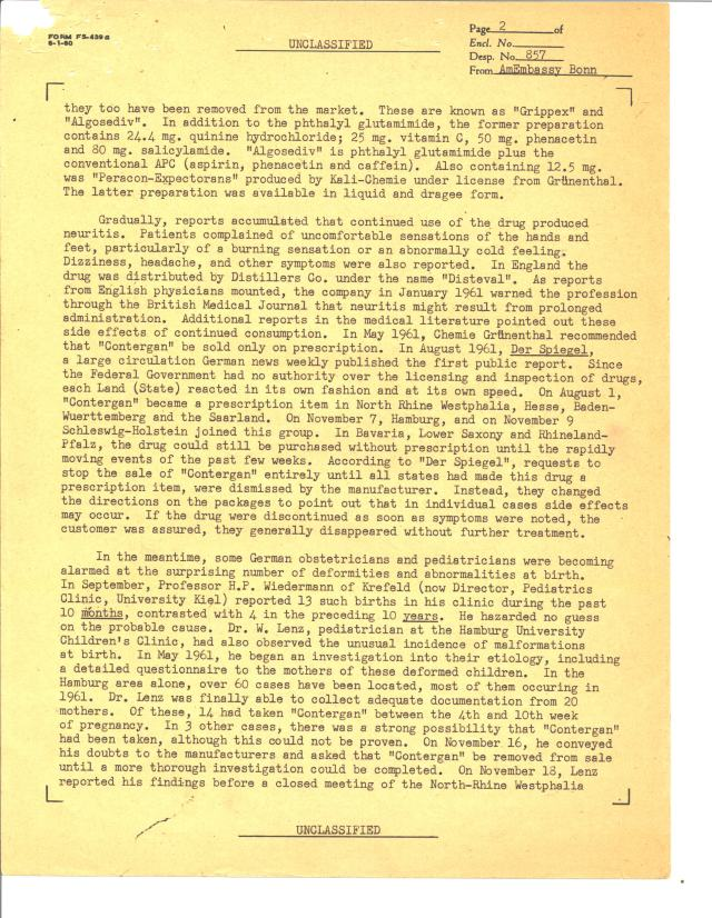 Despatch 857, American Embassy, Bonn to the Department of State, 12/22/1961 p2