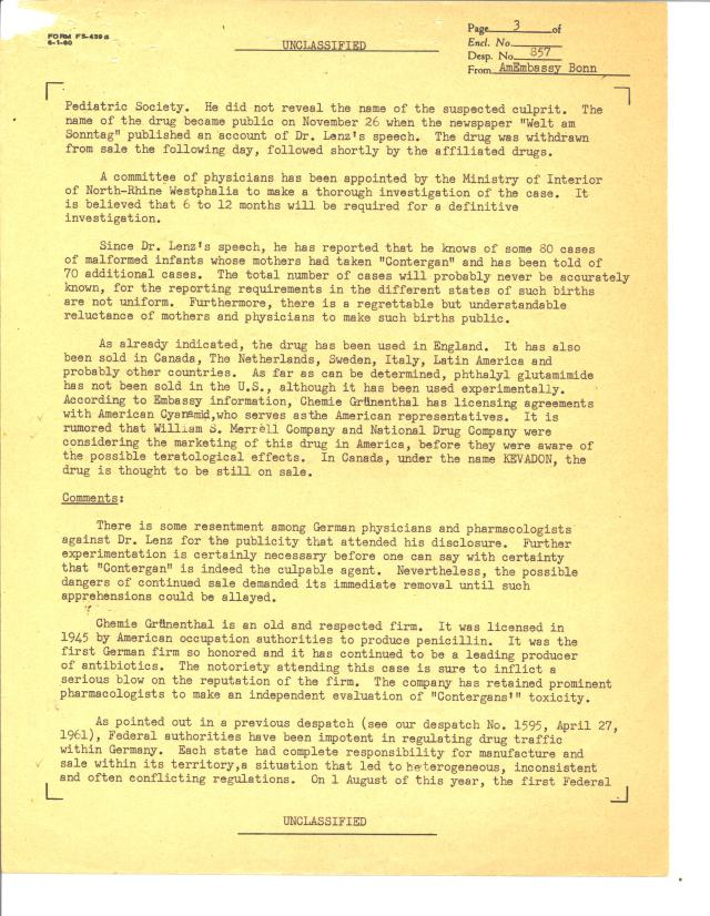 Despatch 857, American Embassy, Bonn to the Department of State, 12/22/1961 p3