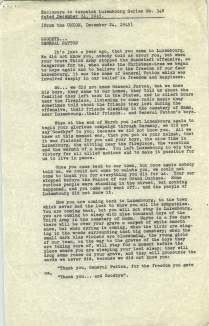 Report on the Funeral of General Patton, 12/24/1945 p4