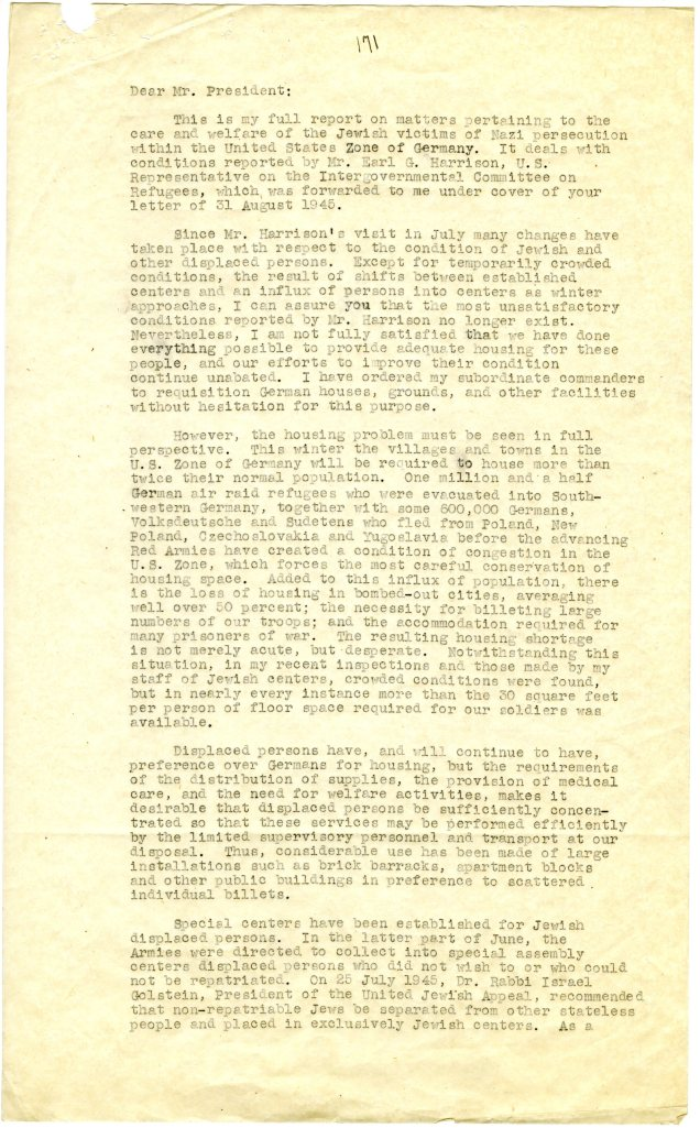 Final Report by General Eisenhower on Displaced Persons in Germany p2