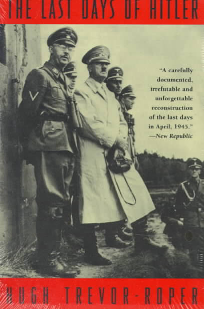 cover for the book The Last Days of Hitler by Hugh Trevor-Roper