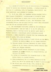 Report of 1st Lt. SC Allen Fial, Dec. 28, 1945 P.2