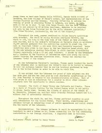 Report regarding Visit to Lebanon of Comedian Danny Thomas, May 8, 1962 p2