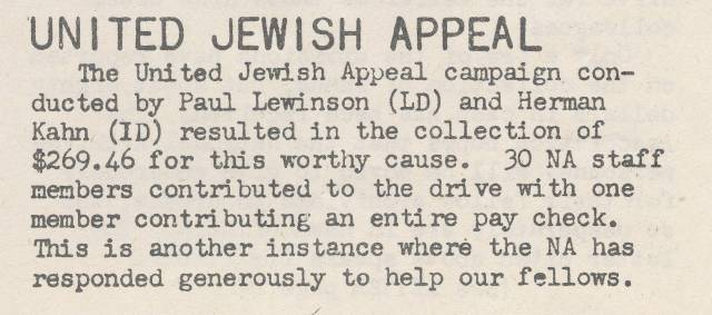 Success of UJA Drive - Archiviews, July 1946, p. 2