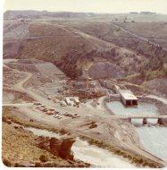 Undated Construction Photograph of Teton Dam (NAID 28894693)