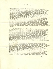 Letter from Ambassador Laurence Steinhardt to Ambassador Biddle, August 26, 1939, P.2