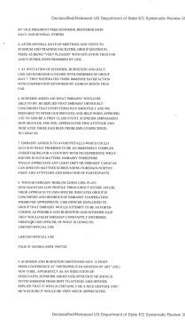 Telegram from American Embassy Kinshasa, subject: Ali-Foreman Fight Preparations