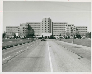 Fitzsimons Army Hospital Building 500, circa 1950.