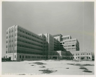 Fitzsimons Army Hospital Building 500 under construction.