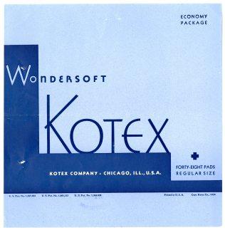 43776 - Wondersoft Kotex Sanitary Napkins - Kotex Company, 1934