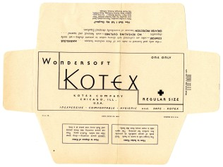 43777 - Wondersoft Kotex Sanitary Napkins - Kotex Company, 1934