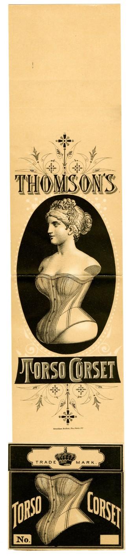 1662 - Thomson's Torso Corset - Thomson, Langdon, & Co., 1878