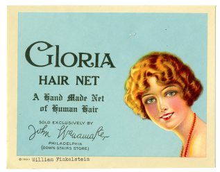 50516 - Gloria Hair Net - William Finkelstein, Doing Business as Eastern Trading Company, 1937 (NAID 23944360)