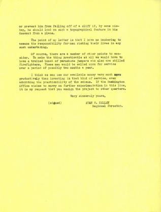 Evan Kelley to Earl Loveridge, July 19, 1935. p. 2.