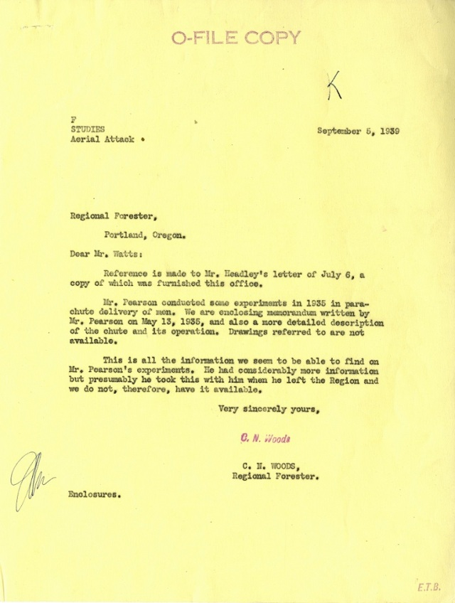 Woods Letter