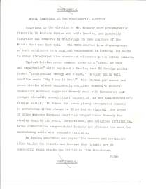 Director of Intelligence and Research to the Secretary of State, Nov 14, 1960. File 711.00/11-1460