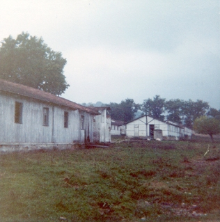 Camp 59 Huts, as seen in 1968. Photo Credit: Tony Vacca