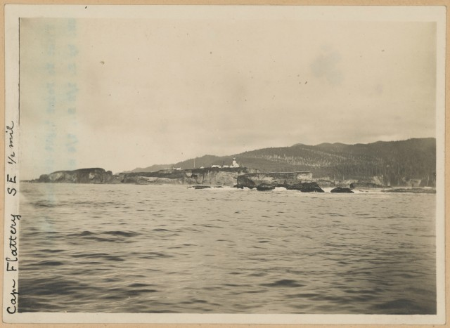 Photograph of Cape Flattery Light Station, Washington.