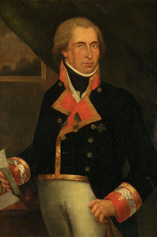 Portrait of Dionisio Alcalá Galiano.