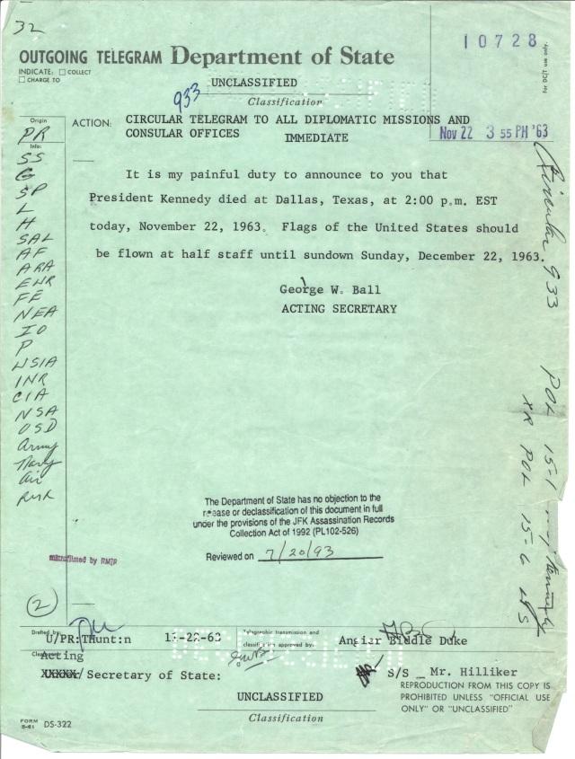 US POL 15-1 US[Kennedy.Cir Tel 933