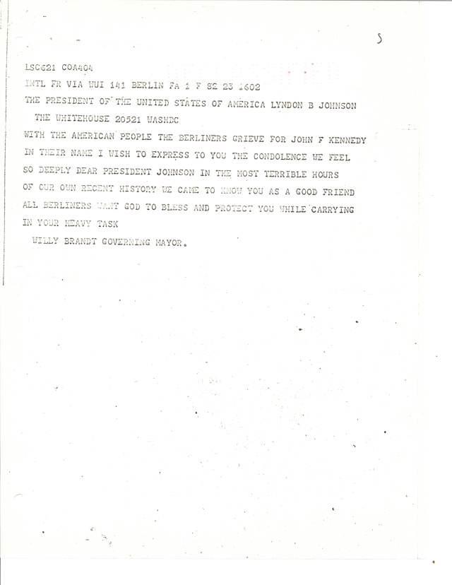 US POL 15-1 US[Kennedy.State 445.Brandt