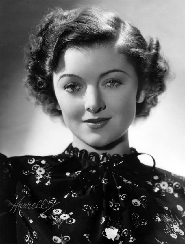publicity photo of Myrna Loy