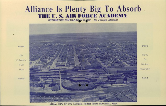 The threat of nuclear war and foreign influence or espionage was at the forefront of Alliance's proposal to the Air Force. While these threats are no less real today, the attitudes Americans have towards the ideas are more distant or detached. National Archives at Denver, RG 341.