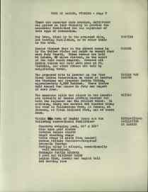 """Lander's proposal included documents outlining the city's municipal qualities, including the fact that there were """"few outdoor toilets."""" The documents also specify entertainment in the surrounding area, such as the rodeo and the annual Sun Dances of the Shoshone and Arapahoe held on the proposed reservation land site. National Archives at Denver, RG 341"""